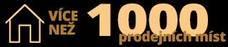 Více než 1000 prodejních míst