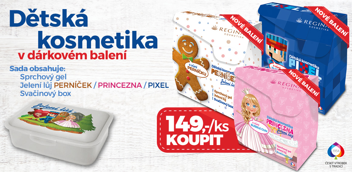 Dětská koupelová kosmetika