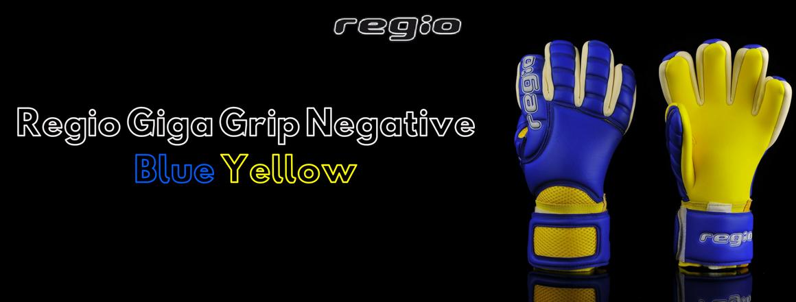 Regio Giga Grip Negative Blue/Yellow