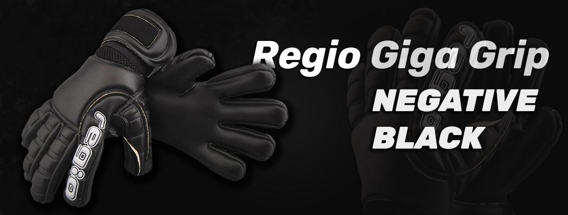 Regio Giga Grip Negative Black