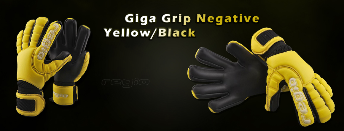 Regio Giga Grip Negative Yellow/Black