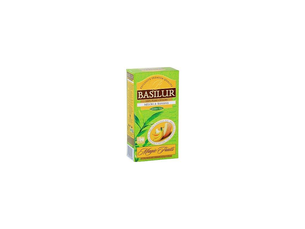BASILUR/ Magic Melon & Banana nepřebal 25x1,5g