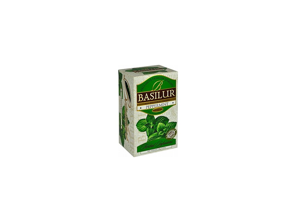 BASILUR Herbal Peppermint přebal 20x1,2g