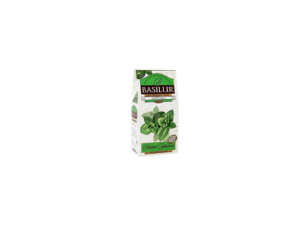 BASILUR Herbal Peppermint papír 30g
