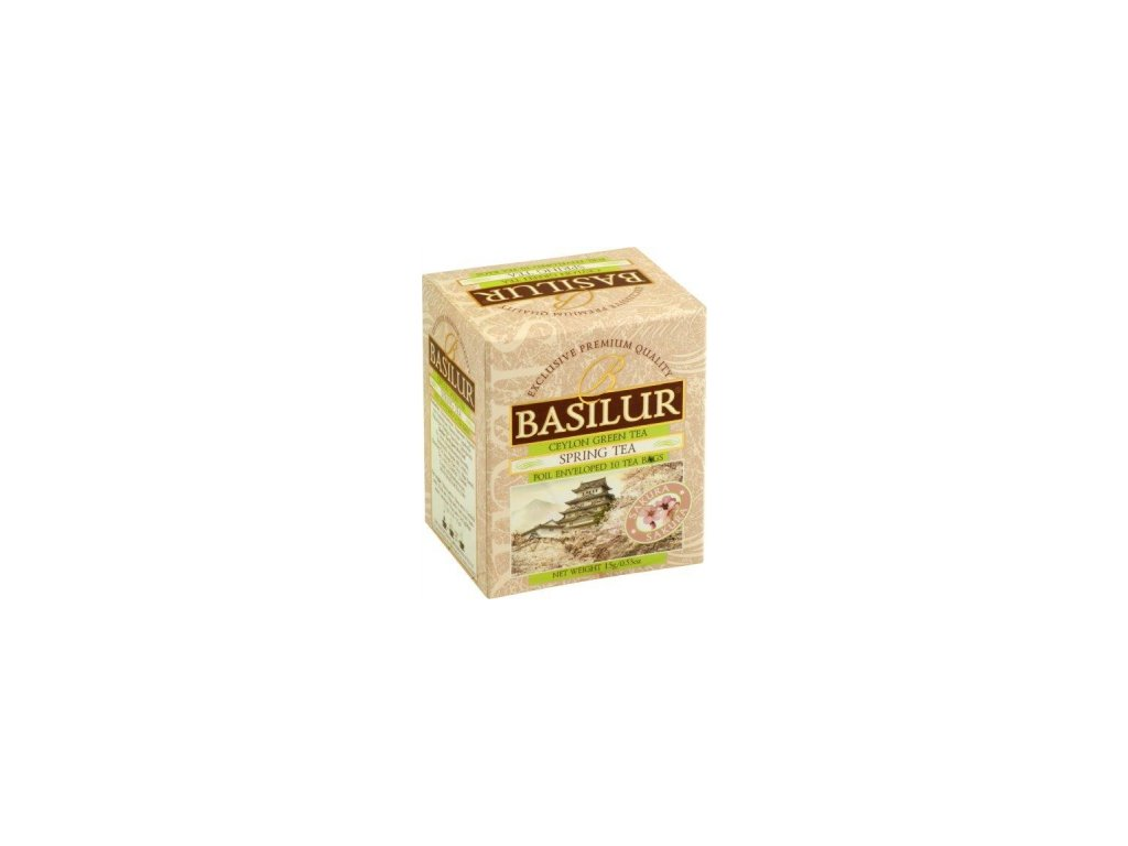 BASILUR Four Season Spring Tea přebal 10x1,5g
