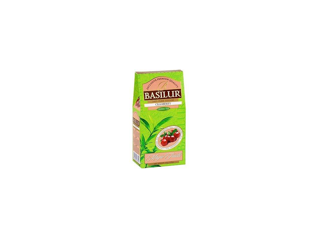 BASILUR Magic Green Cranberry papír 100g