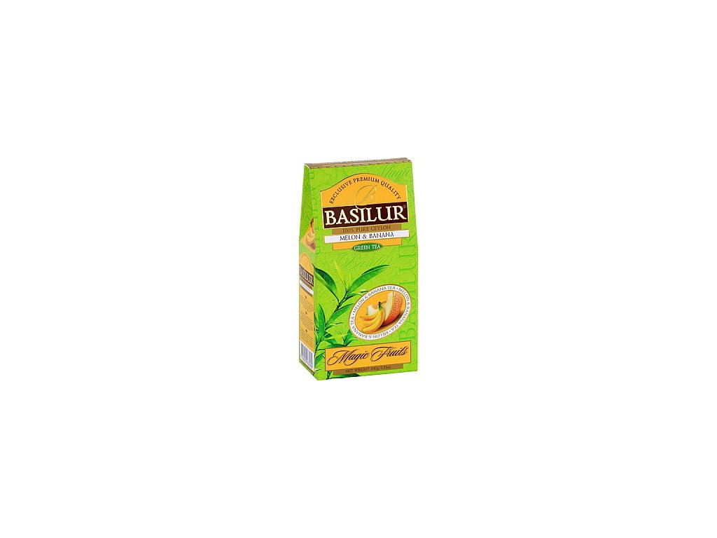 BASILUR Magic Green Melon & Banana papír 100g