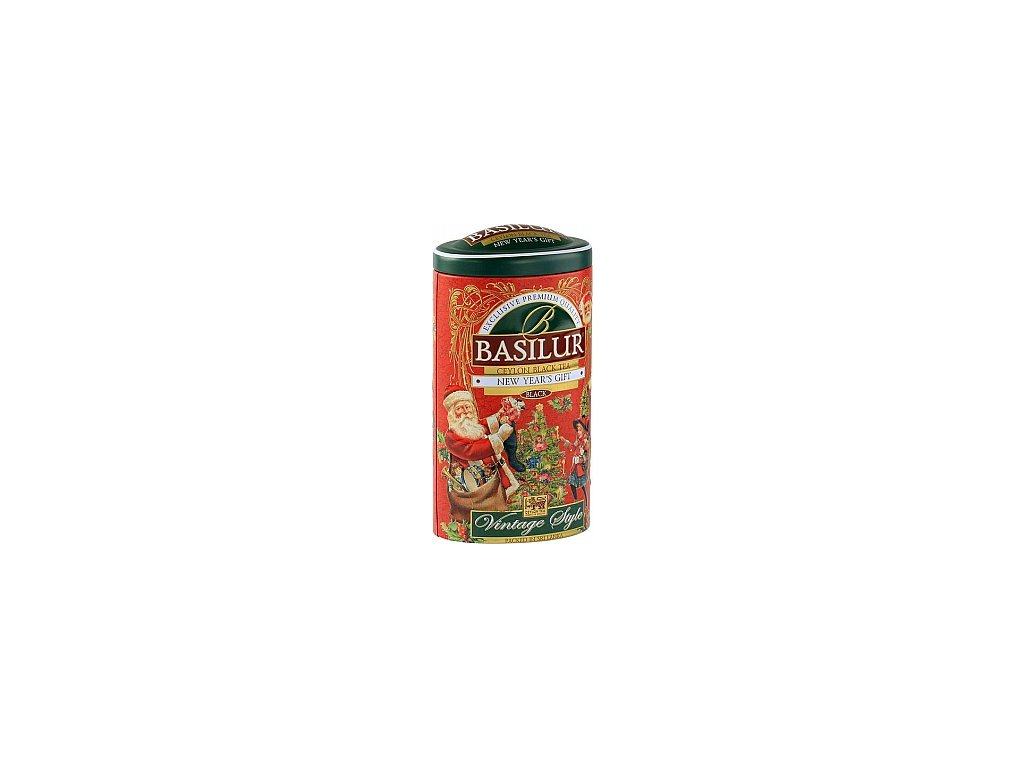 BASILUR Vintage New Years Gift plech 100g