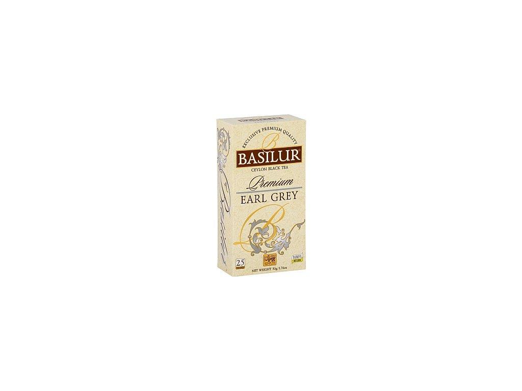 BASILUR Premium Earl Grey nepřebal 25x2g