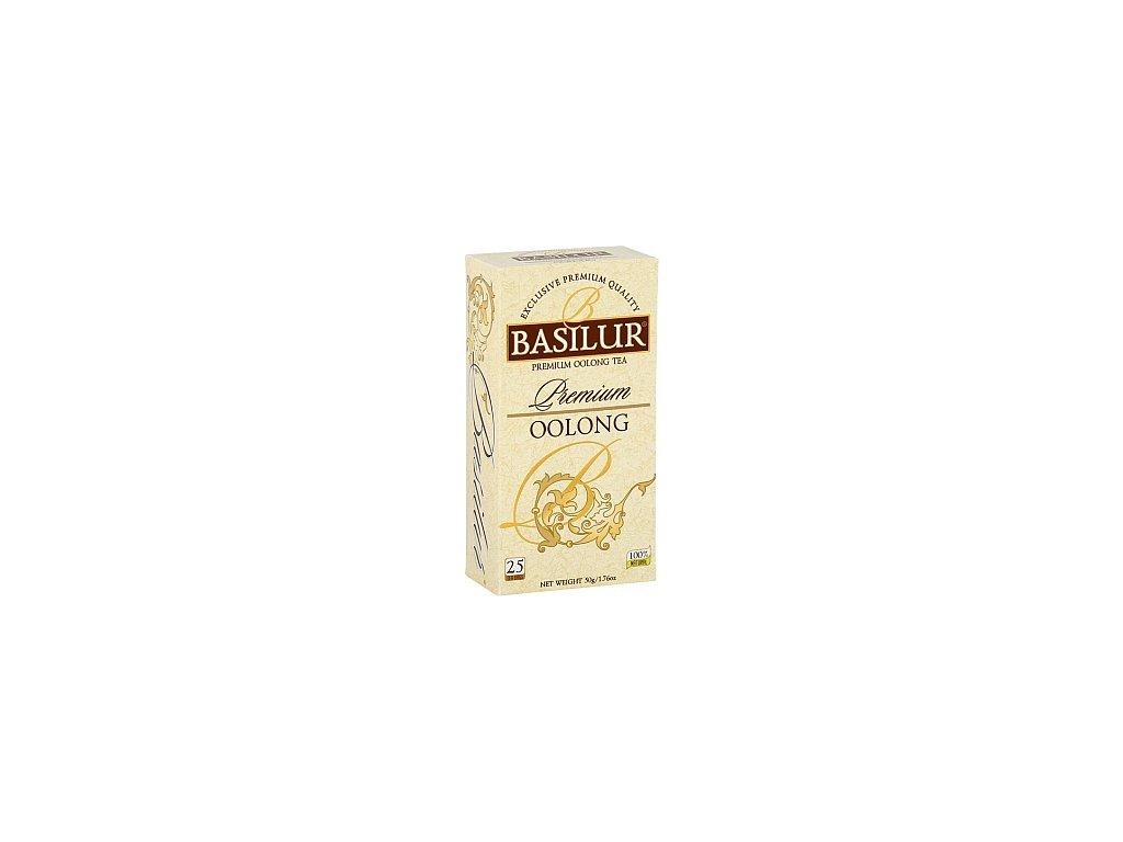 BASILUR Premium Oolong nepřebal 25x2g