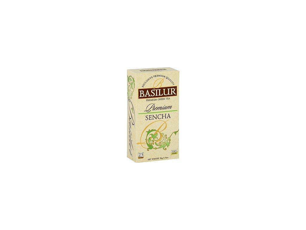 BASILUR Premium Sencha nepřebal 25x2g