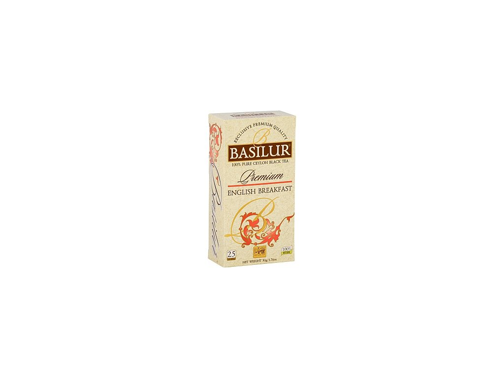 BASILUR Premium English Breakfast nepřebal 25x2g