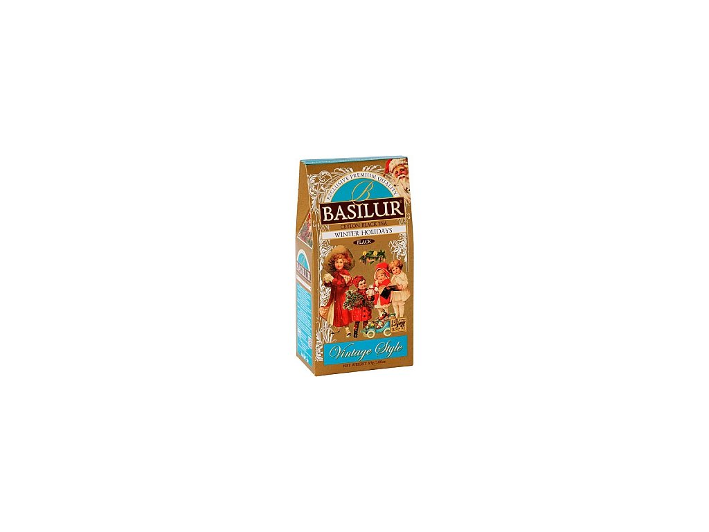 BASILUR Vintage Winter Holiday papír 85g