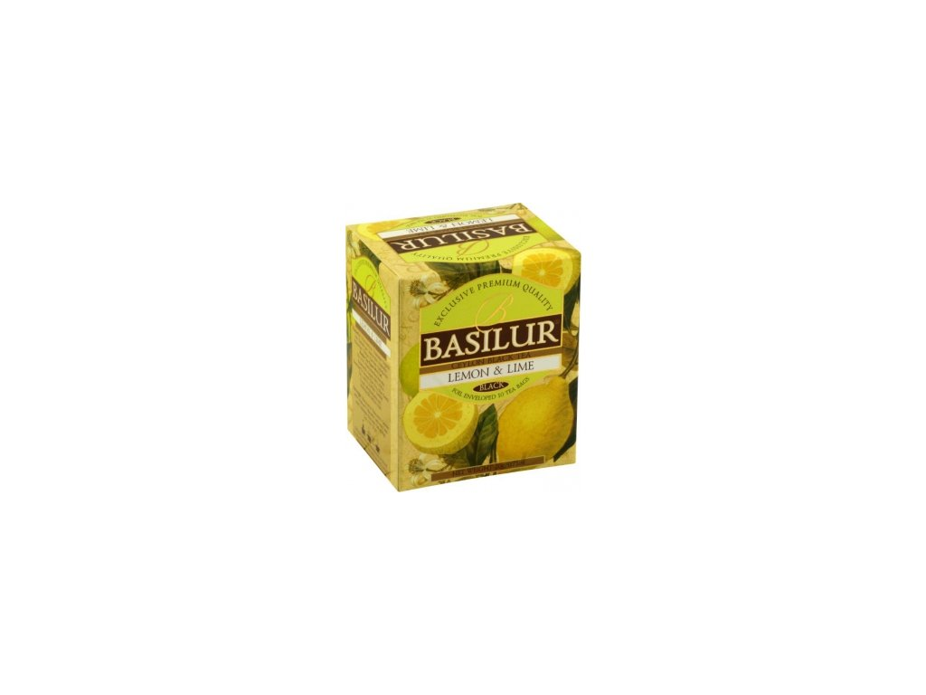 BASILUR Magic Lemon & Lime přebal 10x2g