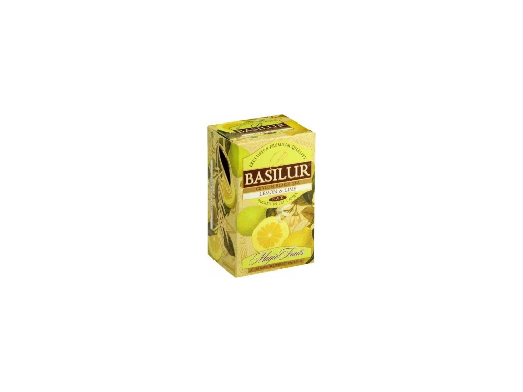 BASILUR Magic Lemon & Lime přebal 20x2g
