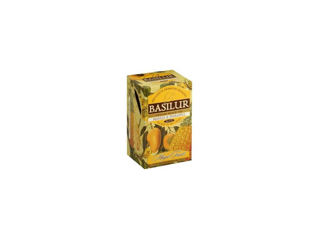 BASILUR Magic Mango & Pineapple přebal 20x2g