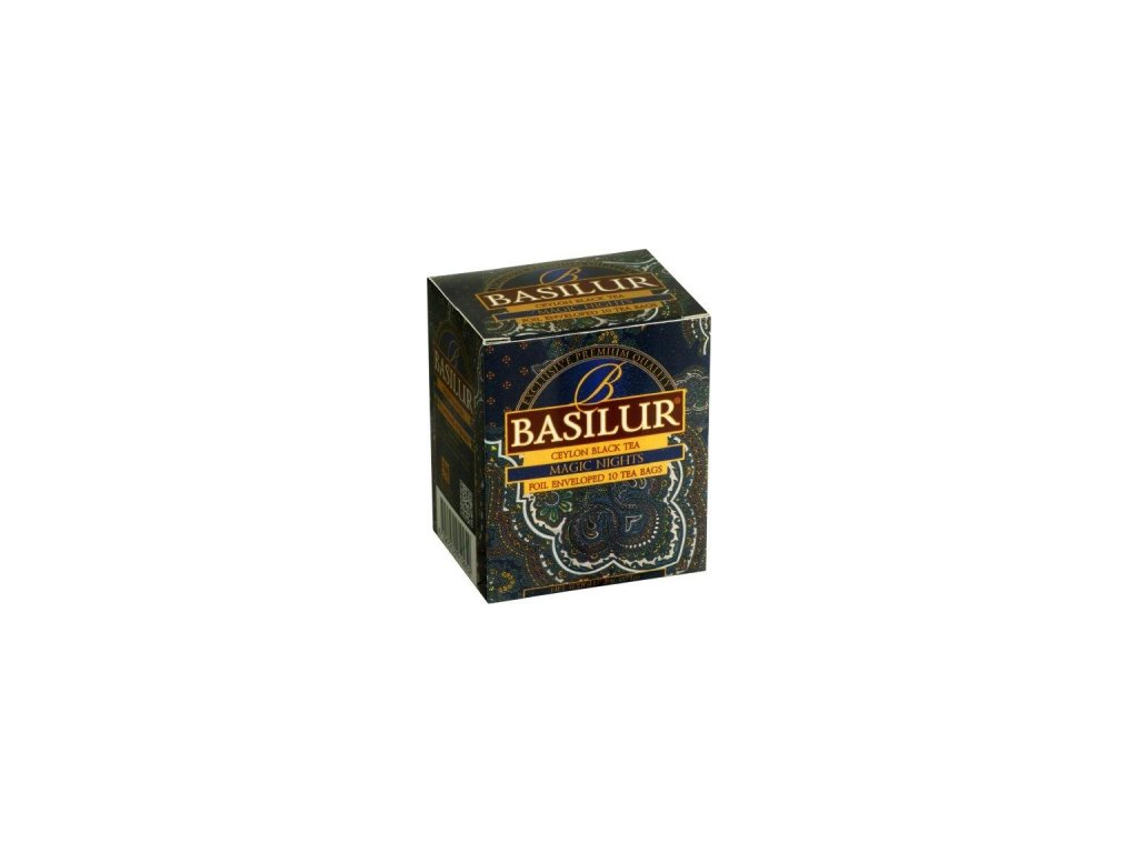 BASILUR Orient Magic Night přebal 10x2g