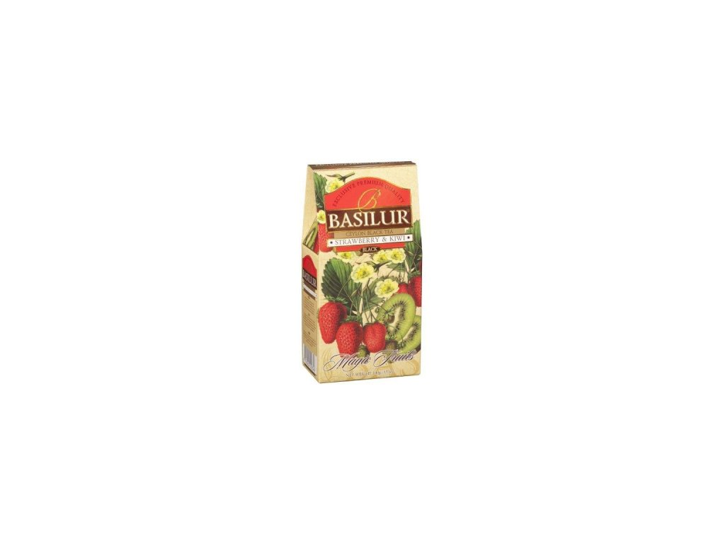 BASILUR Magic Strawberry & Kiwi papír 100g