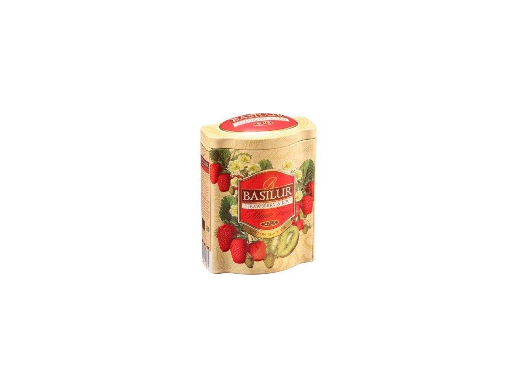 BASILUR Magic Strawberry & Kiwi plech 100g