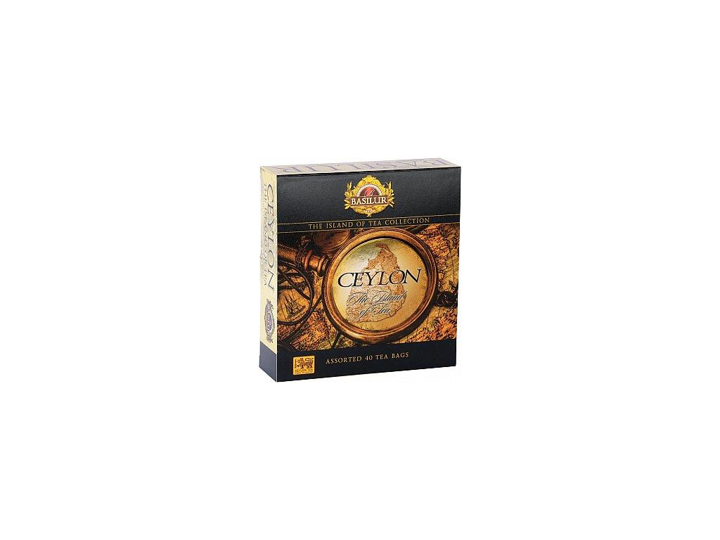 BASILUR The Island of Tea Assorted přebal 40 gastro sáčků