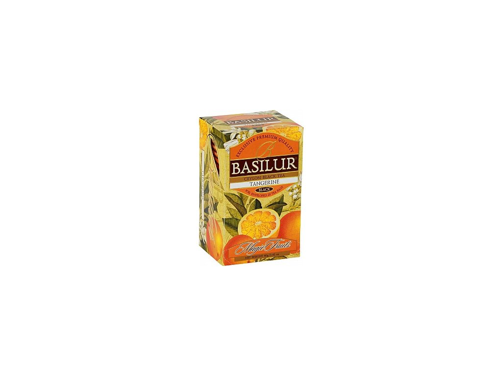 BASILUR Magic Tangerine přebal 20x2g