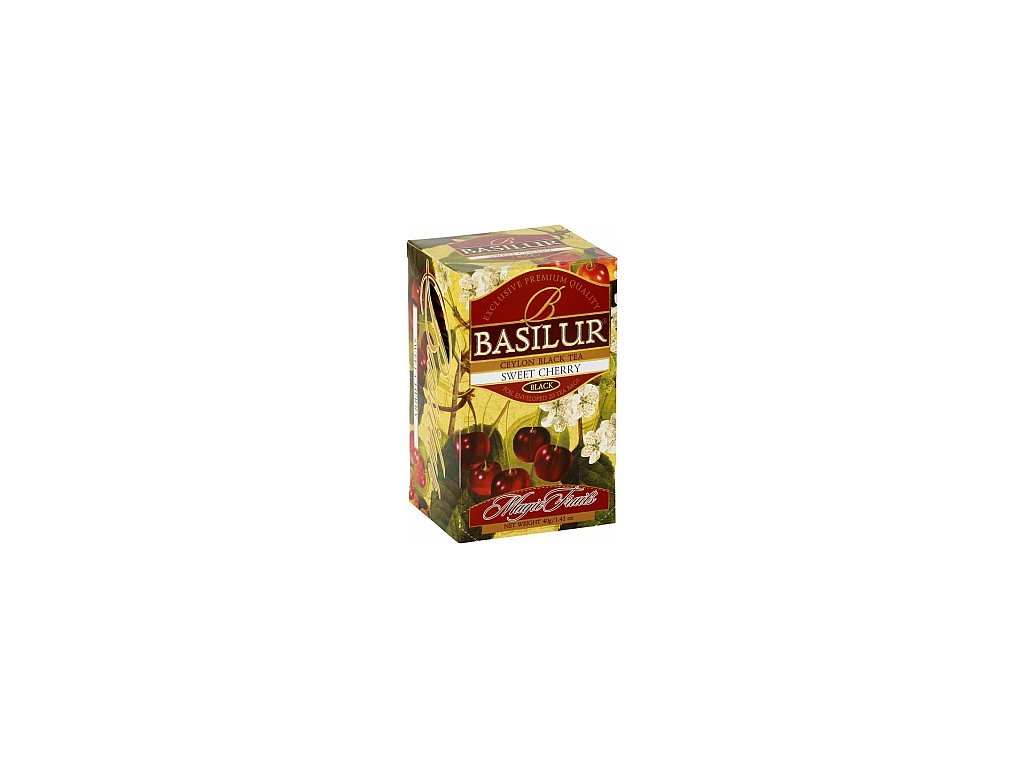 BASILUR Magic Sweet Cherry přebal 20x2g