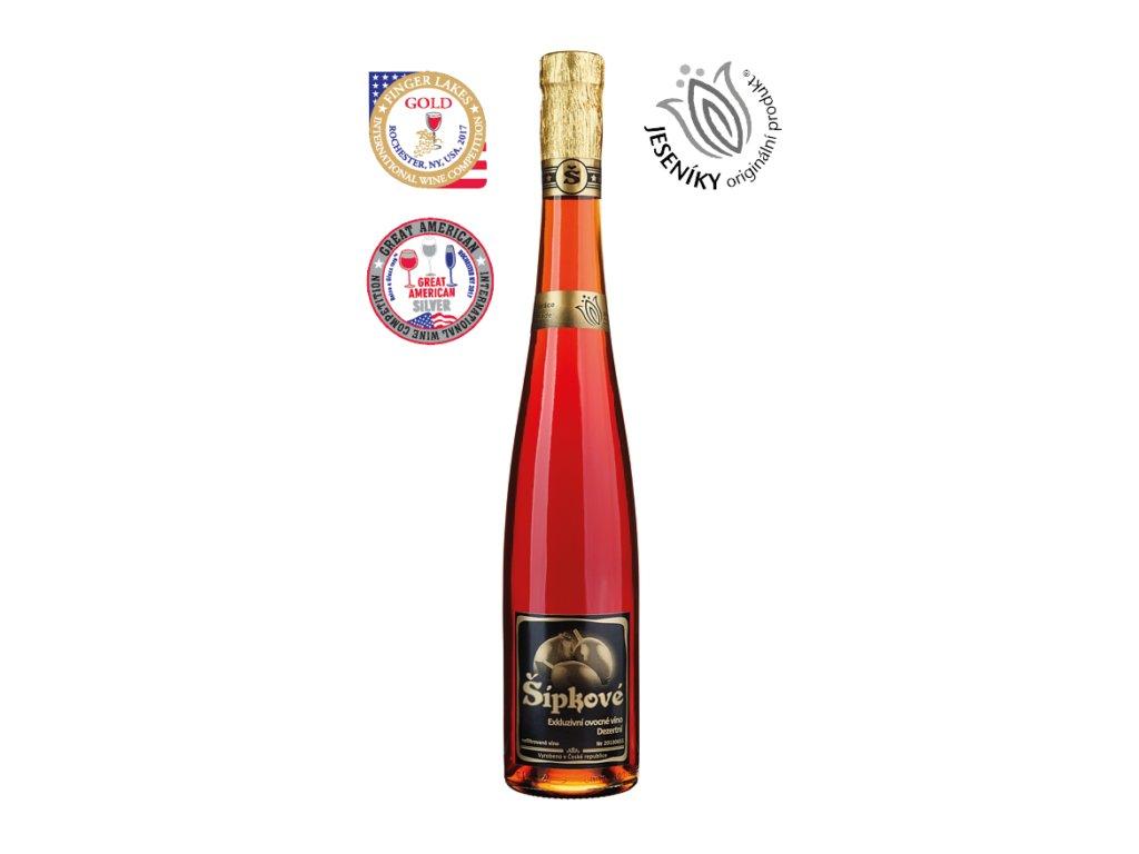 šípkové víno produkt 460x700