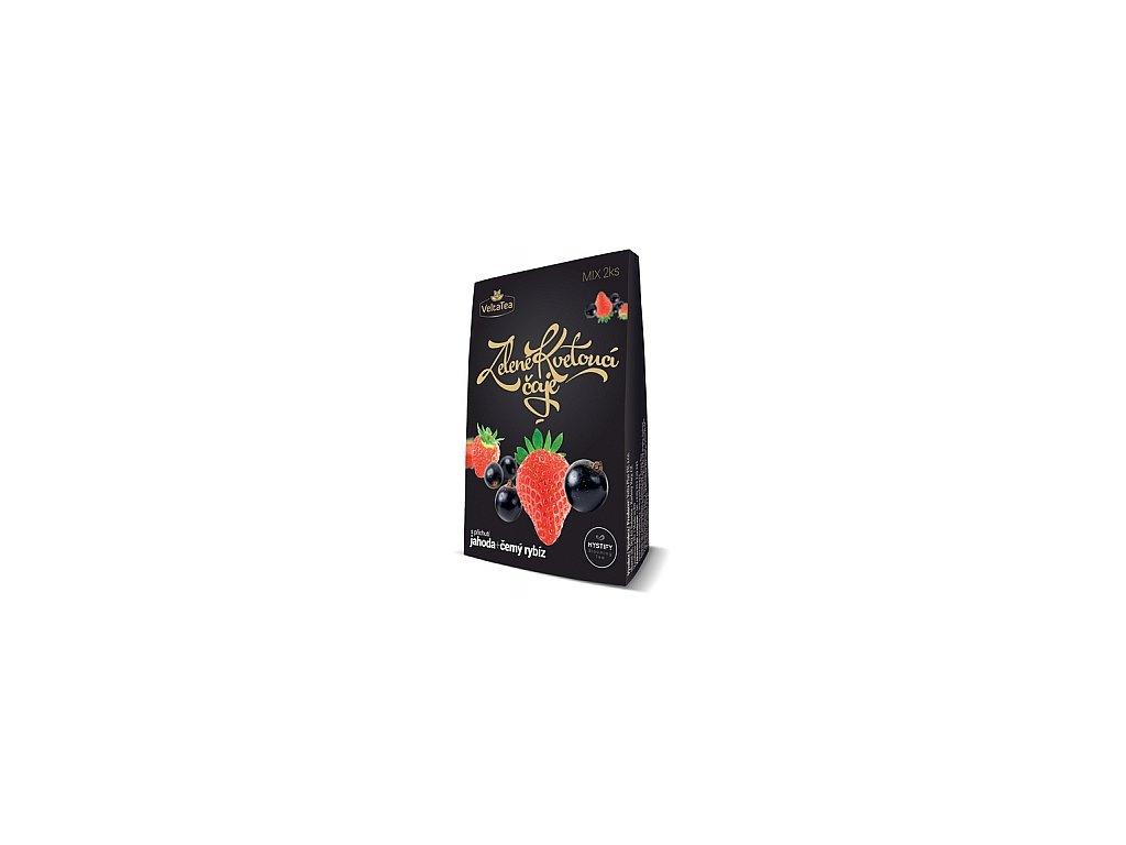Kvetoucí čaj Jahoda + rybíz VELTA 2x6g
