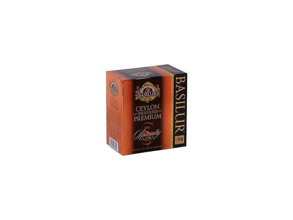 BASILUR/ Specialty Ceylon Premium přebal 50x2g