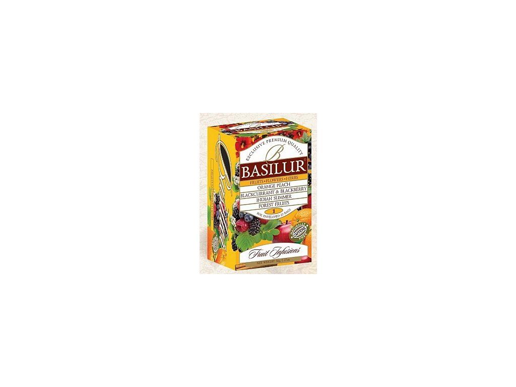 BASILUR/ Fruit Infusions Assorted Vol. I. přebal 20x1,8g