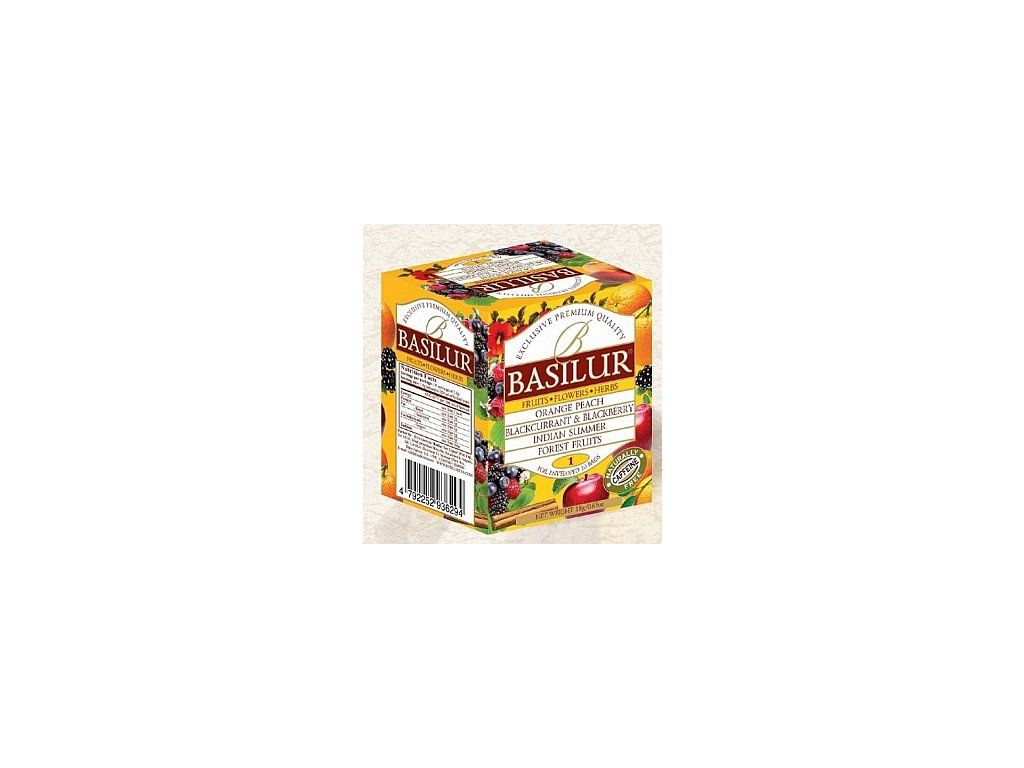 BASILUR/ Fruit Infusions Assorted Vol. I. přebal 10x1,8g