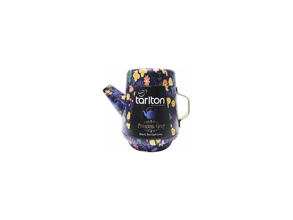 TARLTON Tea Pot Princess Grey Black Tea plech 100g