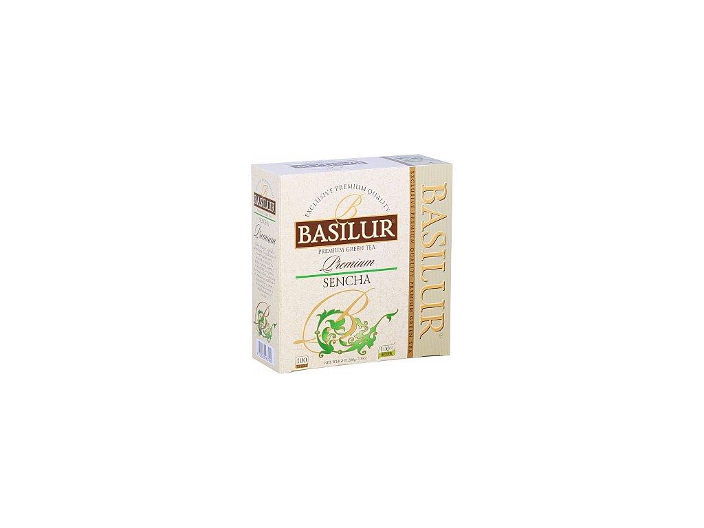 BASILUR Premium Sencha nepřebal 100x2g