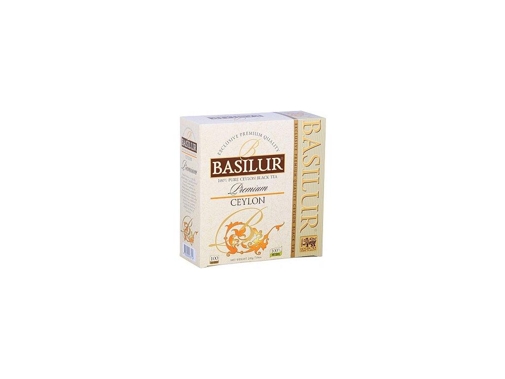 BASILUR Premium Ceylon nepřebal 100x2g