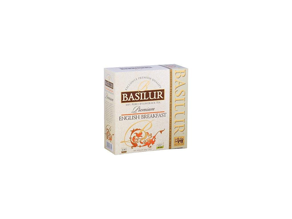 BASILUR Premium English Breakfast nepřebal 100x2g