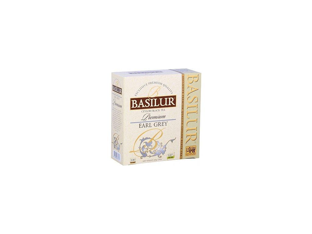 BASILUR Premium Earl Grey nepřebal 100x2g