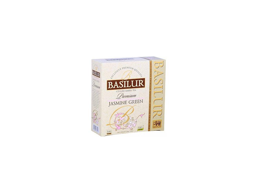 BASILUR Premium Jasmine Green nepřebal 100x2g