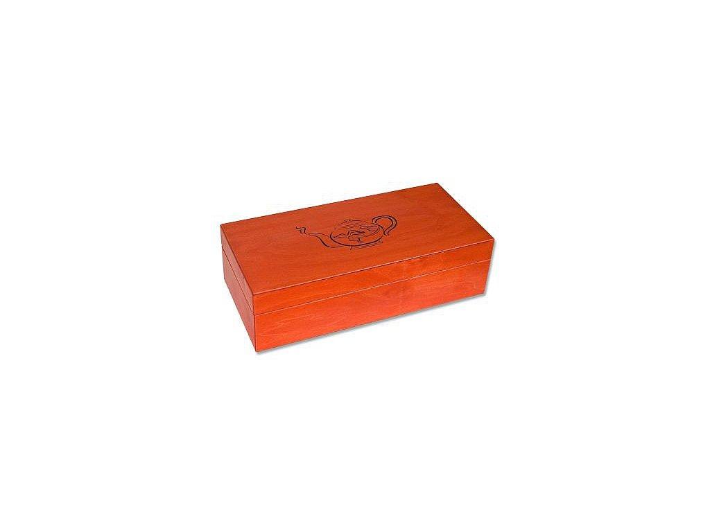 """Dřevěná krabice """"Konvička"""" plná 6x10"""