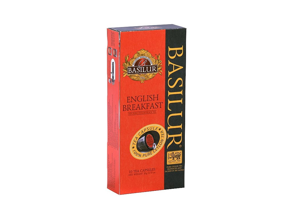 BASILUR TeaCaps English Breakfast kapsle 10x2g