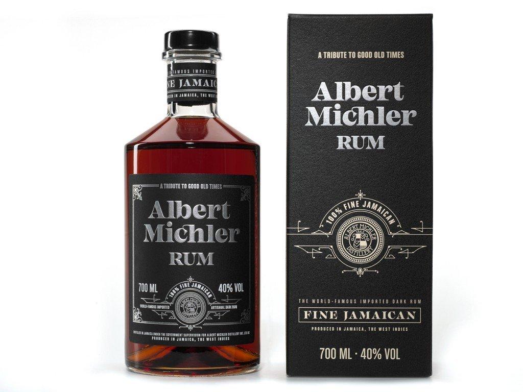 michlers rum artisanal dark rum kartonek 0 7l 40 2170