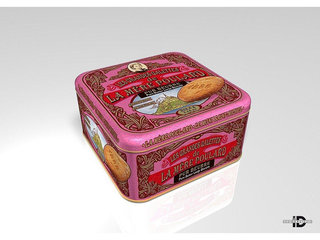 La Mére Poulard Coffret Pure butter large biscuits plech 202,5g