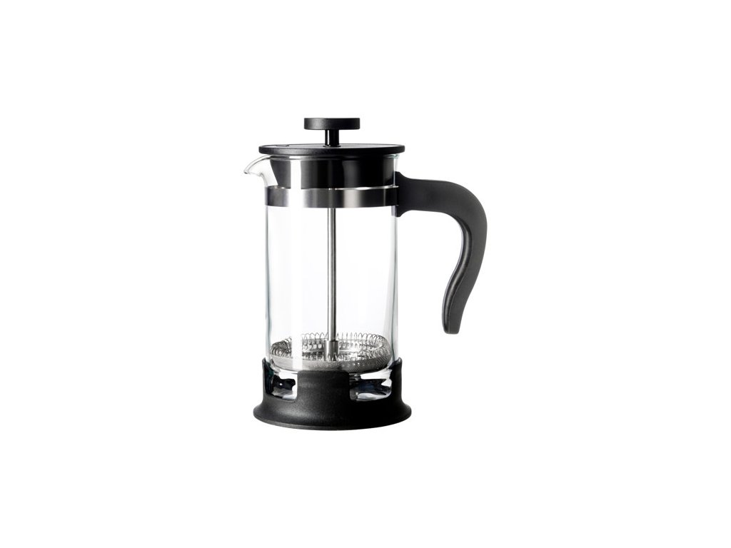 Konvice na kávu, sklo, nerezavějící ocel velikost 0.4l