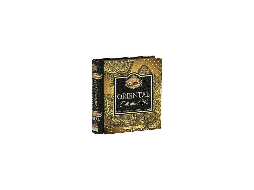 Book Orient Assorted II plech 32 gastro sáčků