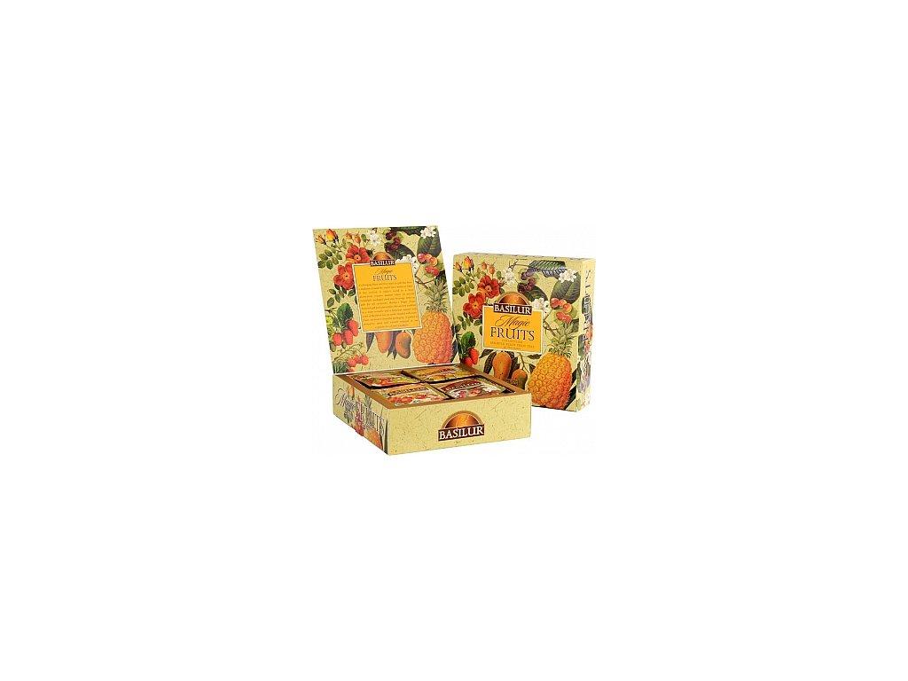 BASILUR Magic Fruits Assorted přebal 40 gastro sáčků 40x2g
