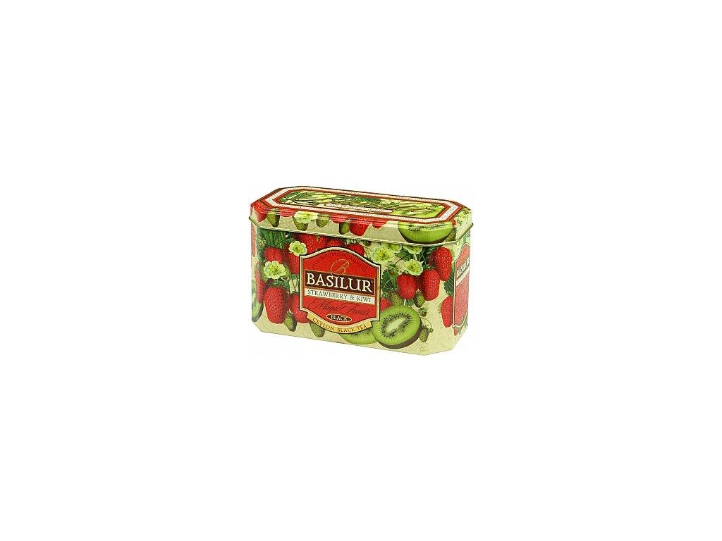 BASILUR Magic Strawberry & Kiwi plech 20x2g