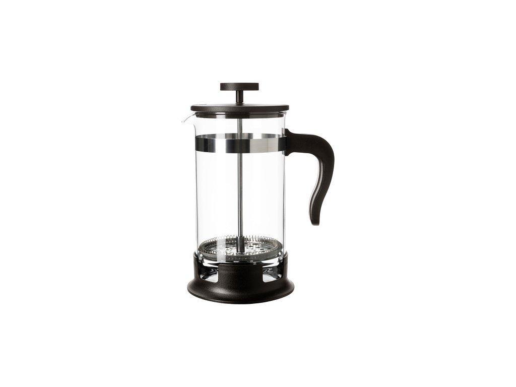 Konvice na kávu, sklo, nerezavějící ocel velikost 1l