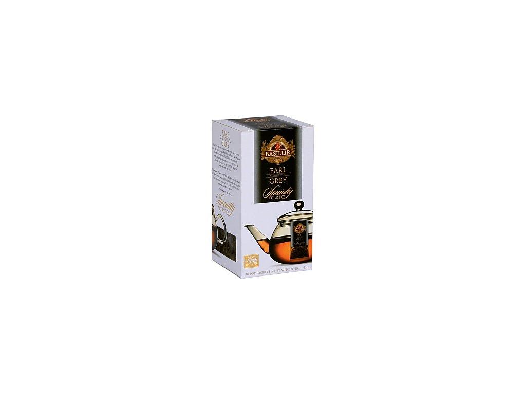 BASILUR Specialty Earl Grey Pot Sachet 10x4g