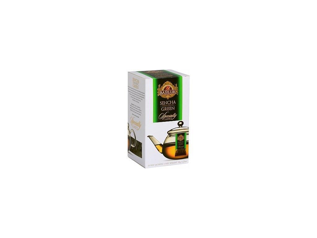 BASILUR Specialty Sencha Pot Sachet 10x3,5g