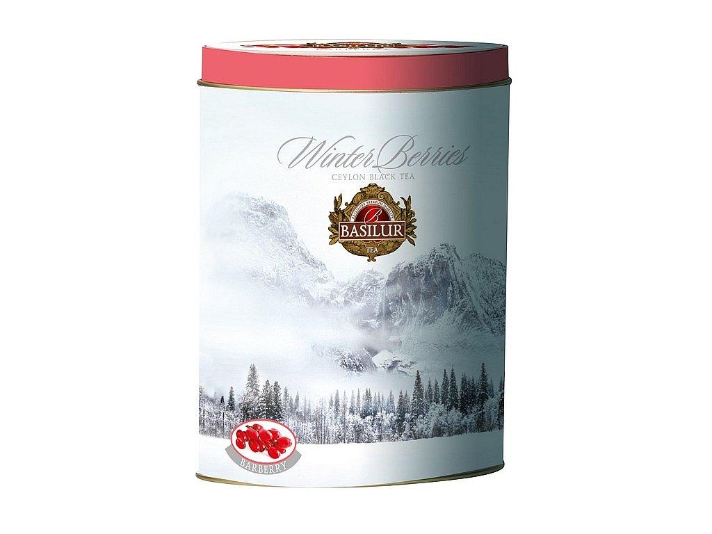 Zimní černý čaj s DŘIŠŤÁLEM plech 100g
