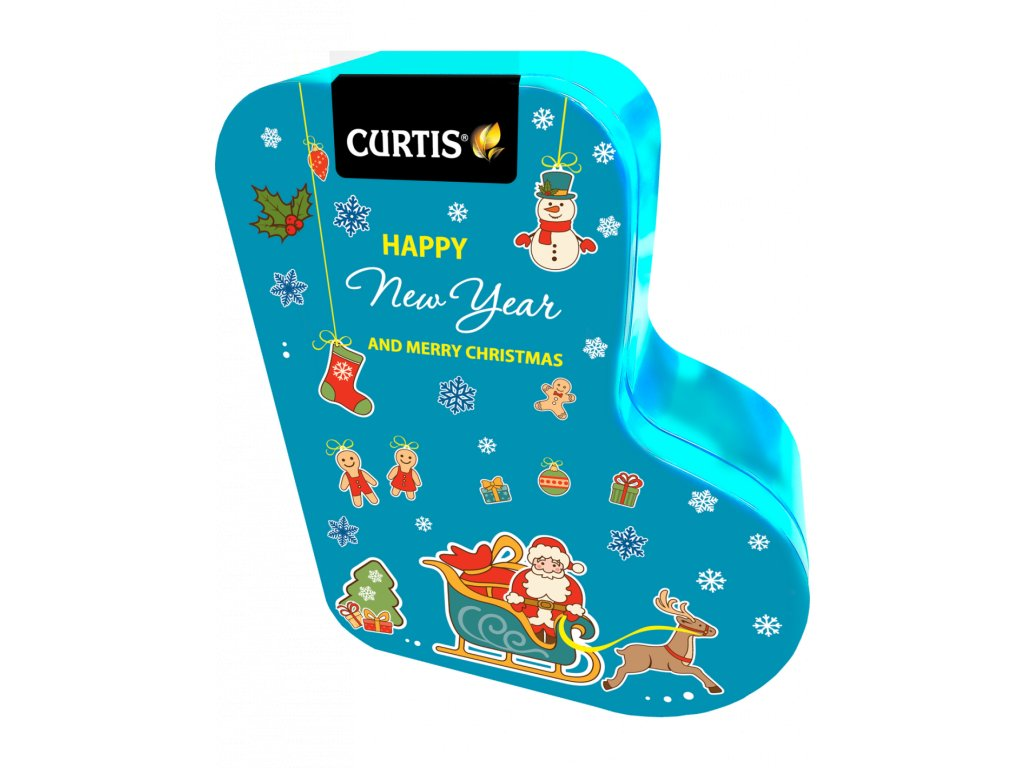curtis happy new year and merry christmas 80g modra